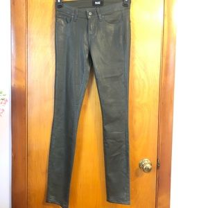 Paige Verdugo Ultra Skinny Luxe Coating Size 26